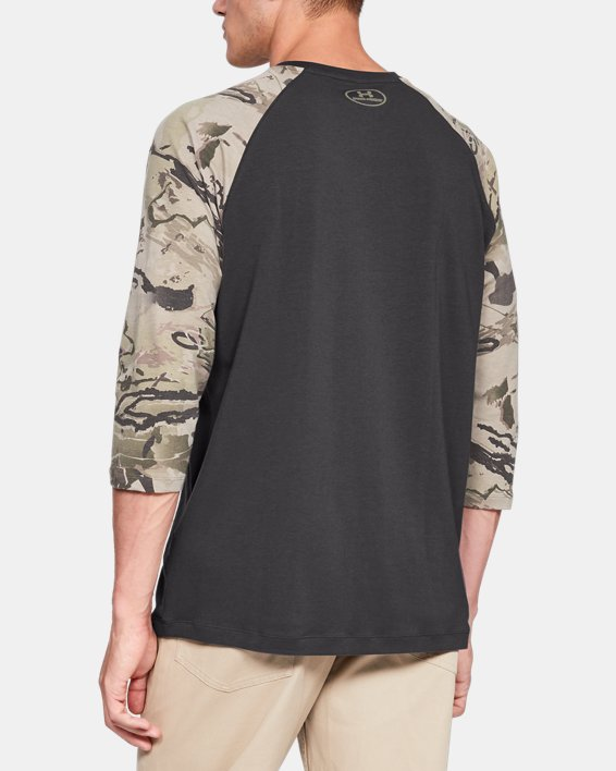 Men's Ridge Reaper® ¾ Sleeve T-Shirt, Gray, pdpMainDesktop image number 2
