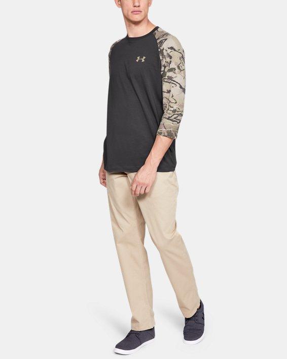 Men's Ridge Reaper® ¾ Sleeve T-Shirt, Gray, pdpMainDesktop image number 1