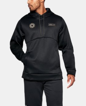New Arrival  Men's Star Wars UA Storm Hoodie  1 Color $69.99