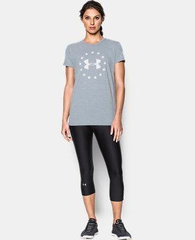 Women's UA Freedom Logo T-Shirt  5 Colors $24.99