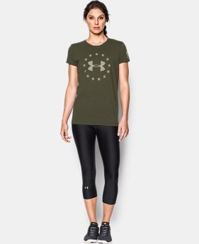 Women's UA Freedom Logo T-Shirt  1  Color $24.99