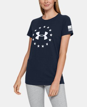 Women's UA Freedom Logo T-Shirt   $24.99
