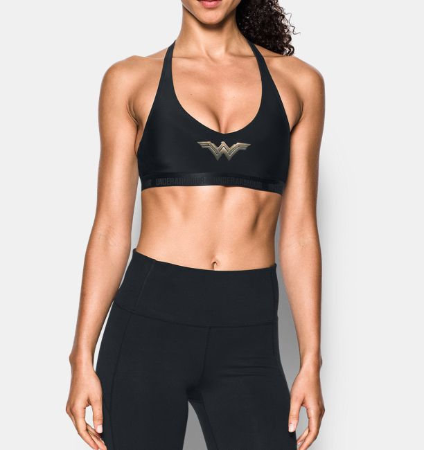 610f9a1ea8574 Women s Under Armour® Alter Ego Wonder Woman Strappy Low Sports Bra ...