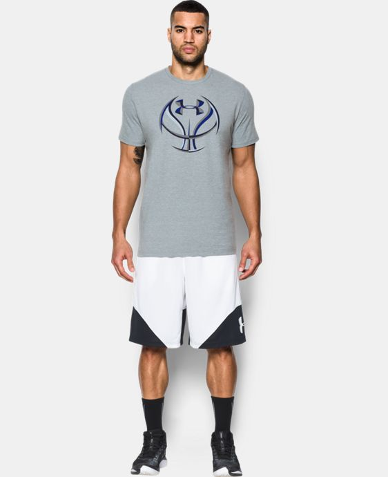 New Arrival Men's UA Basketball Icon T-Shirt  1 Color $24.99