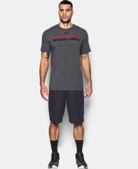 New Arrival Men's UA Basketball Wordmark T-Shirt  1 Color $24.99