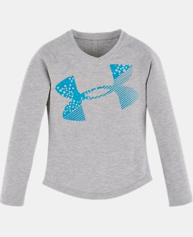 Girls' Toddler UA Galaxy Cropped Logo Long Sleeve  1 Color $36.95