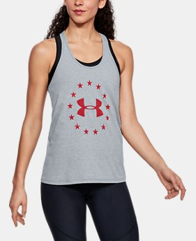 Women's UA Freedom Logo Tank FREE U.S. SHIPPING 1  Color Available $29.99