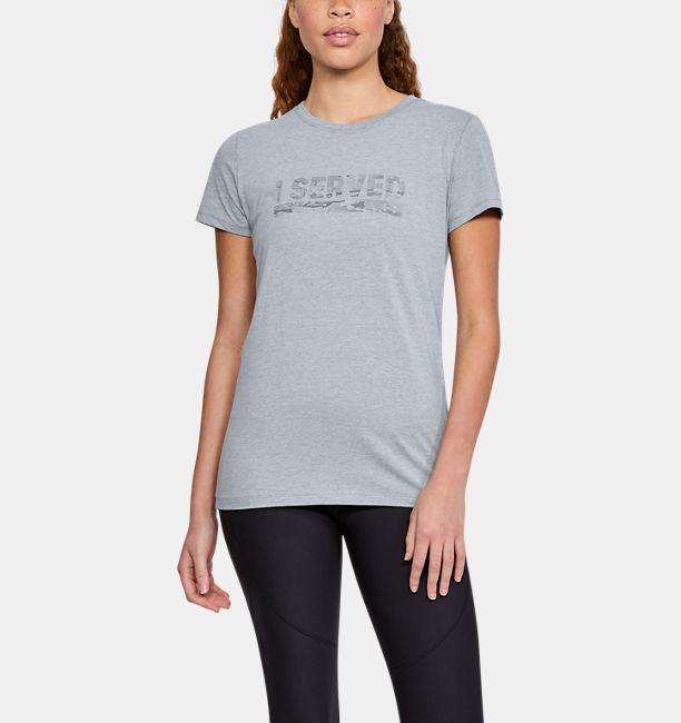 32b5cbbfd4 Women's UA Freedom I Served T-Shirt