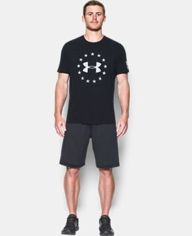 Best Seller Men's UA Freedom Logo T-Shirt  2  Colors $24.99