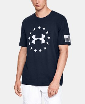 Men's UA Freedom Logo T-Shirt  4  Colors Available $24.99