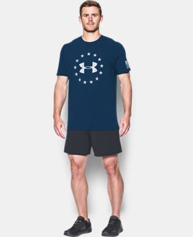 Men's UA Freedom Logo T-Shirt  1  Color Available $18.74