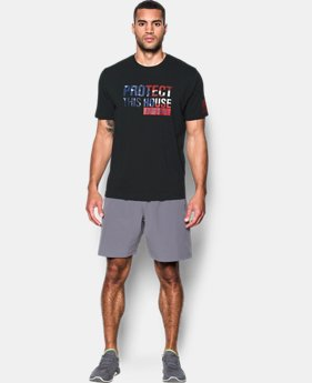 Men's UA Freedom Protect This House T-Shirt  2  Colors Available $24.99