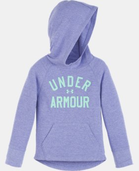 New Arrival Girls' Pre-School UA Waffle Hoodie LIMITED TIME: FREE U.S. SHIPPING 1 Color $32.99