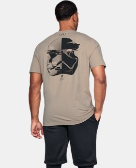 New Arrival  Men's UA Star Wars Trooper Back T-Shirt  1 Color $39.99