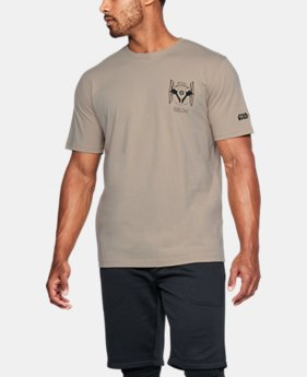New Arrival Men's UA Star Wars Trooper Back T-Shirt  1 Color $34.99