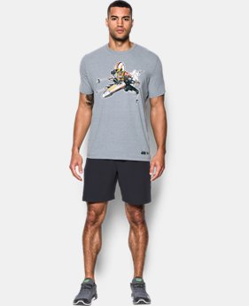 New Arrival  Men's UA Star Wars XWing Pilot T-Shirt  1 Color $39.99