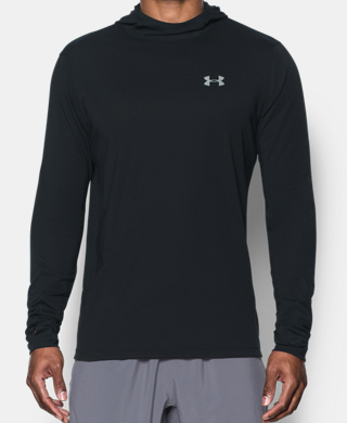 Men's UA Threadborne Run Mesh Hoodie