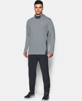 Men's UA Threadborne™ Run Mesh Hoodie   $41.99