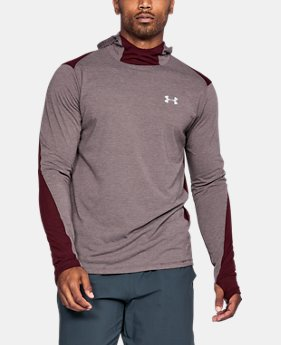 Men's UA Threadborne™ Run Mesh Hoodie  1 Color $59.99