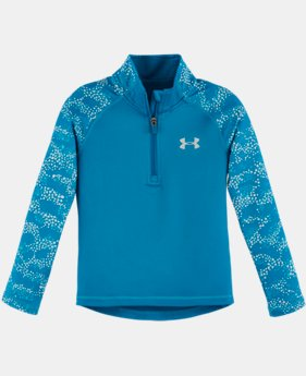 New Arrival Girls' Toddler UA Mini Galaxy 1/4 Zip LIMITED TIME: FREE U.S. SHIPPING  $34.99
