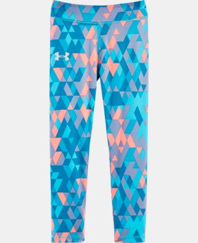 New Arrival Girls' Pre-School UA Tri Meta Fade Leggings LIMITED TIME: FREE U.S. SHIPPING 1 Color $29.99