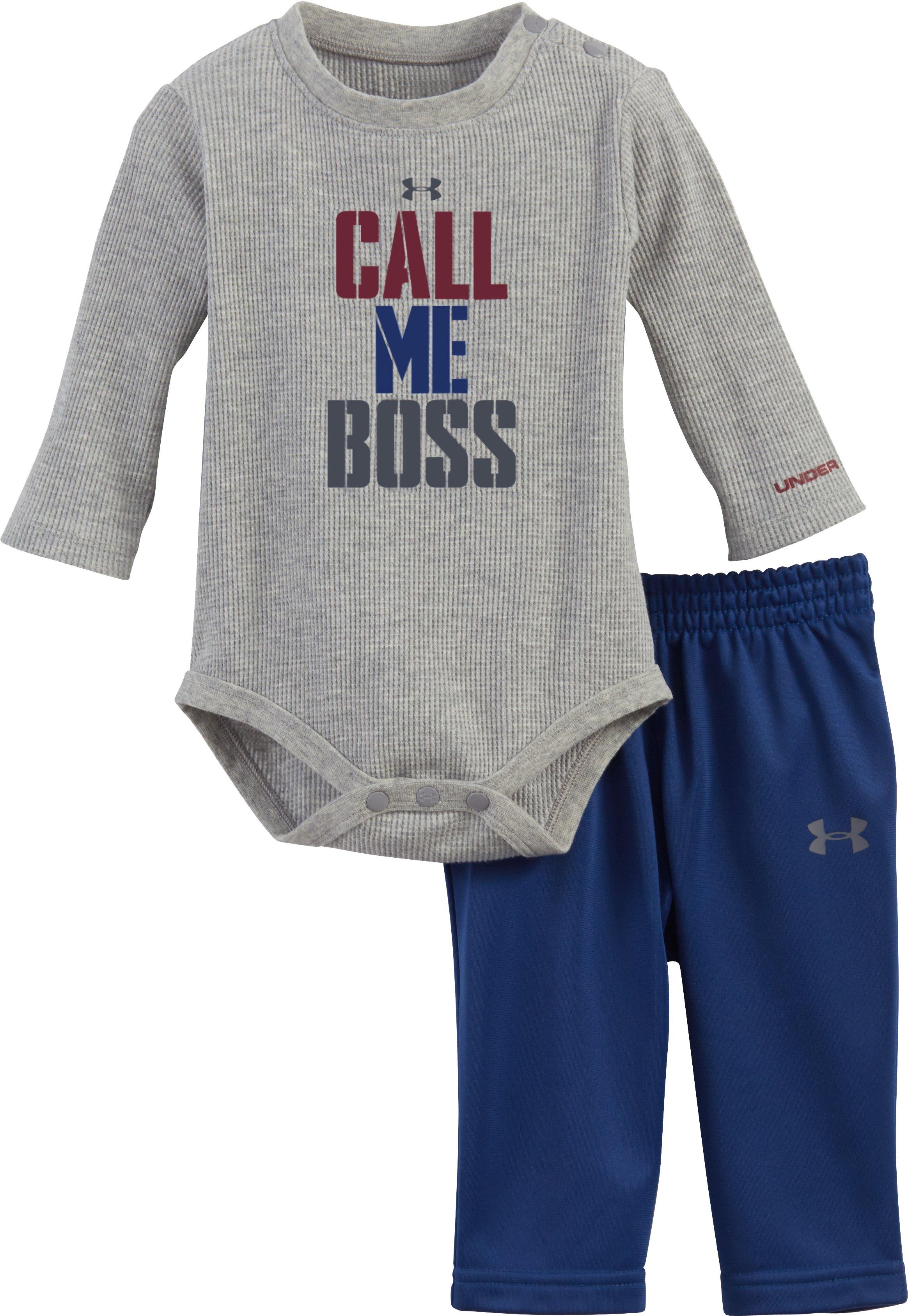 Boys Newborn UA Call Me Boss Set