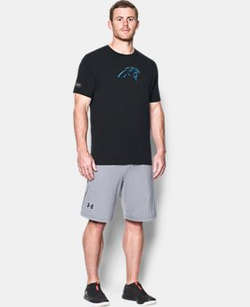 New to Outlet Men's NFL Combine Authentic UA Print Logo T-Shirt  1  Color Available $26.25 to $26.99