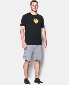 Men's NFL Combine Authentic UA Print Logo T-Shirt  5 Colors $26.99