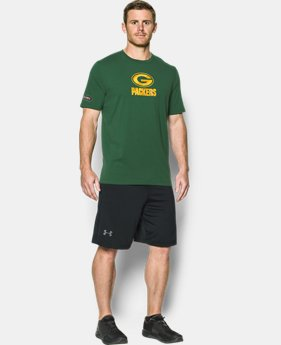 Men's NFL Combine Authentic UA Print Logo T-Shirt  5 Colors $35