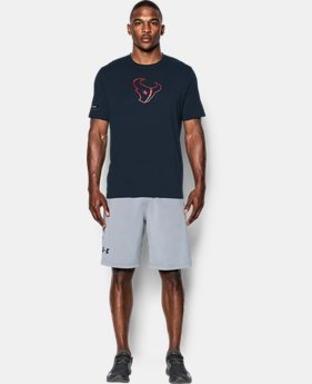 New to Outlet Men's NFL Combine Authentic UA Print Logo T-Shirt  17  Colors Available $26.25 to $26.99