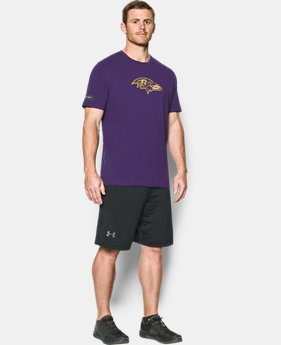 Men's NFL Combine Authentic UA Print Logo T-Shirt  2 Colors $26.99