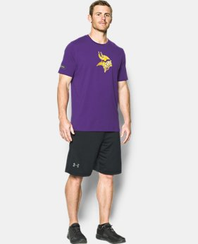 New to Outlet Men's NFL Combine Authentic UA Print Logo T-Shirt  1  Color $26.25 to $26.99