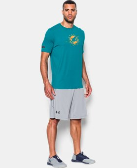 Men's NFL Combine Authentic UA Print Logo T-Shirt  1 Color $26.99