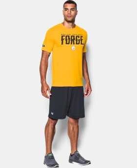Men's NFL Combine Authentic UA Team T-Shirt LIMITED TIME: 25% OFF 2 Colors $26.24 to $35