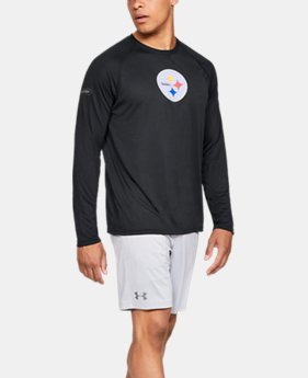 Men's NFL Combine Authentic UA Tech™ Long Sleeve  8  Colors Available $39.99 to $40