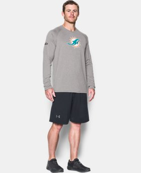 Best Seller Men's NFL Combine Authentic UA Logo Long Sleeve T-Shirt  16 Colors $40