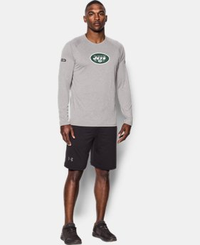 Men's NFL Combine Authentic UA Logo Long Sleeve T-Shirt  1  Color Available $29.99 to $30.99