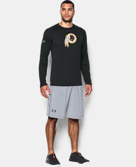 Best Seller Men's NFL Combine Authentic UA Logo Long Sleeve T-Shirt  1 Color $40