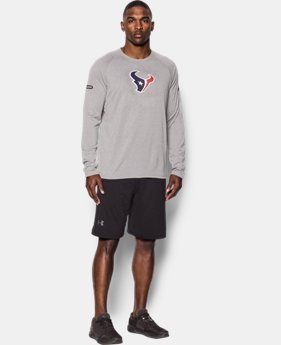 Men's NFL Combine Authentic UA Logo Long Sleeve T-Shirt  1  Color $30 to $30.99
