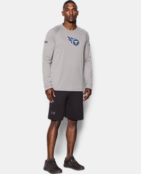 New Arrival Men's NFL Combine Authentic UA Logo Long Sleeve T-Shirt  1 Color $40