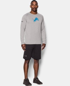 Best Seller Men's NFL Combine Authentic UA Logo Long Sleeve T-Shirt  26 Colors $40