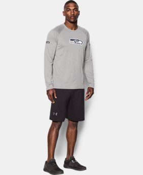 Best Seller Men's NFL Combine Authentic UA Logo Long Sleeve T-Shirt   $40