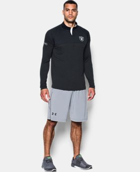 Men's NFL Combine Authentic UA Tech™ Twist ¼ Zip Long Sleeve Shirt  1  Color Available $59.99 to $60