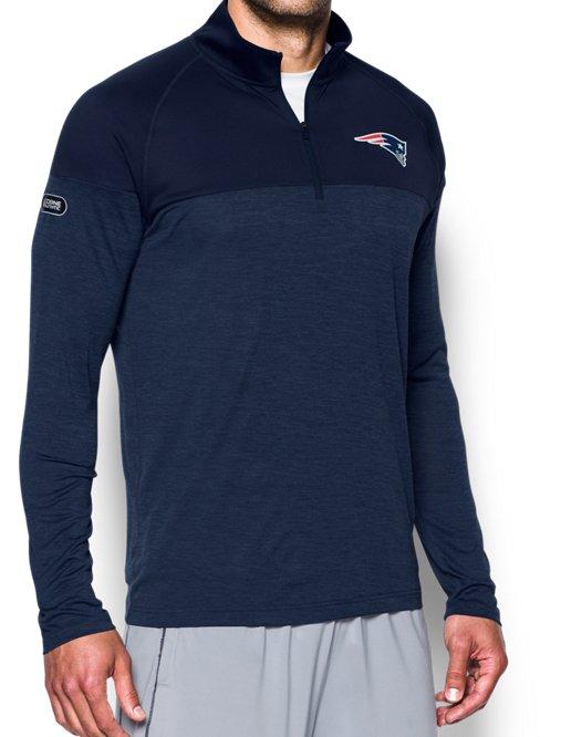 f80be78a8e96 Men s NFL Combine Authentic UA Tech™ Twist ¼ Zip Long Sleeve Shirt ...