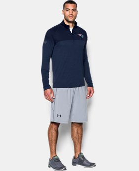 Men's NFL Combine Authentic UA Tech™ Twist ¼ Zip Long Sleeve Shirt  21  Colors Available $41.99