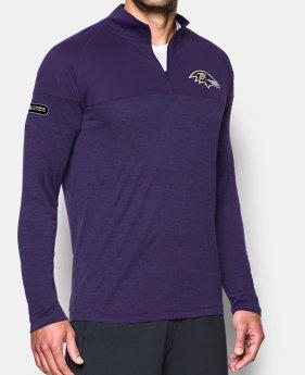 Men s NFL Combine Authentic UA Tech™ Twist ¼ Zip Long Sleeve Shirt 2 Colors  Available f7705443f