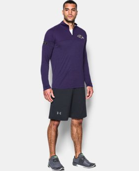 Men's NFL Combine Authentic UA Tech™ Twist ¼ Zip Long Sleeve Shirt  5  Colors Available $60
