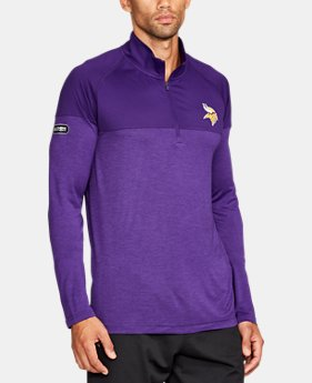 Men's NFL Combine Authentic UA Tech™ Twist ¼ Zip Long Sleeve Shirt  1  Color Available $60