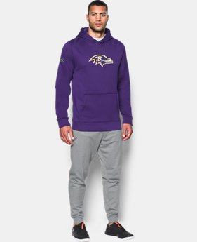 Men's NFL Combine Authentic UA Hoodie  1  Color Available $52.5