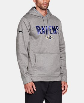 Men's NFL Combine Authentic Wordmark Hoodie  1  Color Available $52.5
